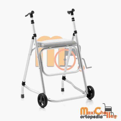 venta de andador con dos ruedas y asiento barato en Gran Canaria