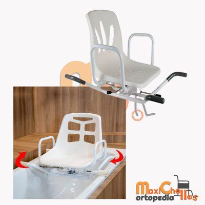 venta de silla giratoria para bañera en GRan Canaria para personas de movilidad reducida